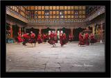 Monks Dance, Paro Dzong