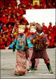 Clown & Diva, Tshechu Festival
