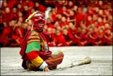 Clown & Pipe, Tshechu Festival