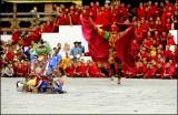 Clown & Hunter 1, Tshechu Festival