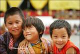 Kids 1, Tshechu Festival