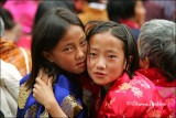 Girls, Tshechu Festival
