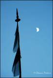 Moon & Prayer Flag