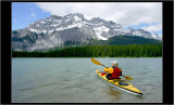 Kayaking in Banff NP, Canada