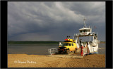 MacKenzy River ferry, Dempster HWY, NW Territories