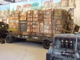 1773 G159 Rogers D45LF1 trailer M9 with crates