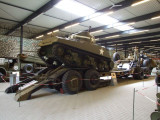1881 M25 trailer with Sherman M4A4