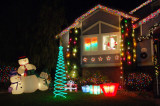 House Holiday Lights Discovery Bay 8