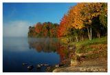Autumn Misty Sunrise at Nockamixon )