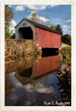 Reflections of Erwinna Covered Bridge