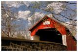 Spring Along Frankenfield Covered Bridge
