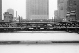 Frozen Chicago River (FEB06)