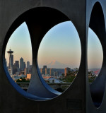 Seattle, at times ...