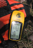 GPS unit at Spider Hill
