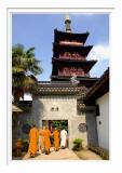 Hanshan Temple - The Monks & The Pagoda