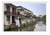 Water Village Tongli - Houses Surrounded By Water