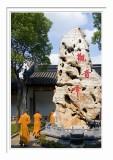 Hanshan Temple - The Monks & The Rock