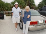 SARA'S SISTER MARY AND HER HUSBAND DICK AT THE BEACH