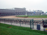 THE TRACK AT CHURCHILL DOWNS FROM THE CHEAP SEATS