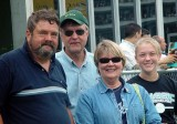 DON, KENNY WOCHOS, WIFE LINDA AND DAUGHTER LESLEY
