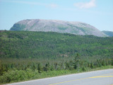 THIS WAS OUR FIRST GLIMPSE OF GROS MORNE NATIONAL PARK