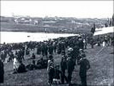 A VIEW OF THE ST. JOHN'S REGATTA IN MID 1800'S