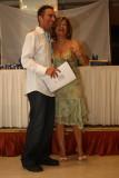 Godale acceptshis award
