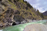 exit from Prozhai Rodina rapid. Big Laba river