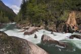 Zatychka (Plug) rapid on Big Laba river