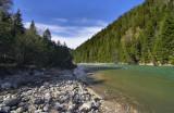 Big Laba river.Caucasus