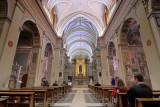 inside churches