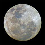 Subtle Color of Moon