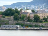 View of Akerhus Fortress from Ferry