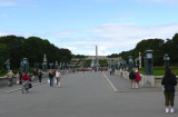 Entering Vigeland's Sculpture Park