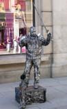 Street Performer on Karl Johans Blvd