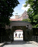 Entering Akershus Fortress (AD 1299) from Side Gate