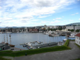 View of Oslo from Akershus Wall