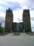 Oslo City Hall (site of Nobel Peace Prize Ceremony)