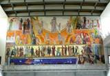 Mural on Wall at Oslo City Hall
