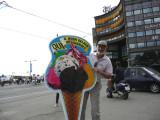 Graham Watching Us Eat Ice Cream