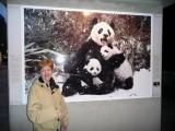 Susan with Pandas