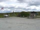 Stop Near Summit of Hardanger Mountain Plateau