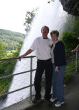 Under Steinsdal Falls