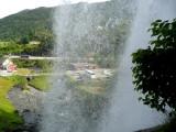 View Through Steinsdal Falls