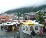 Rainy Day at Bergen Fish Market
