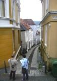 Narrow Street in Bergen