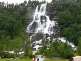 Tvindefoss Waterfall