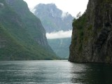 Entering Naeorey Fjord