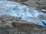 Close to Briksdal Glacier