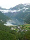 Overlooking Geiranger Fjord